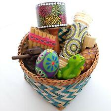 Music Sensory Basket small / Treasure Basket / Plastic Free / Montessori