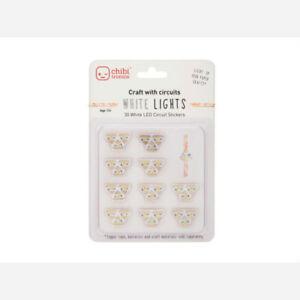 White LEDs MegaPack (30 stickers)