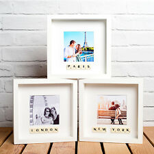 Wooden 3D Box/Deep Picture Frames Personalised
