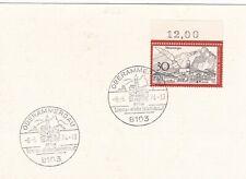 Germany 1974 Oberammergau Special cancel Postal Card Vgc