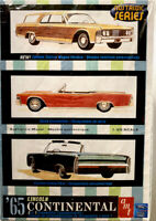 AMT 1965 LINCONLN CONTINENTAL 3 IN 1 CONVERTIBLE CUSTOMIZE 1:25 Kit R2006 NEW