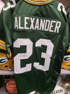 Jaire Alexander Packers Signed Autographed Custom Jersey JSA