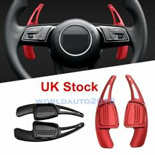 2X Red Shift Paddle Shifter Extension for Audi A4L A5 Q7 TT TTS S4 Q2 S3 2015-17
