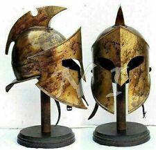 Great King Leonidas Spartan Roman COMMANDO Replica 300 Armor Helmet Costume Gift