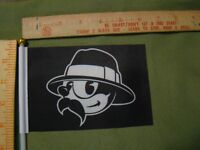 Lowrider Man flag for parade license plate topper Cholo flag lowrider flag