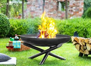 Feuerschale Terrassen / Gartenfeuer INDIANA 60, 70, 80, 100 cm Cook King Stahl