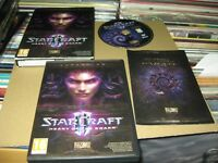 Star Craft II Herz Of Das Swarm Expansion Set PC