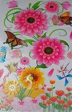 3D Stickers,Wall Decals Butterflies,Flowers,Candies,Pin Wheels Art & Craft#06