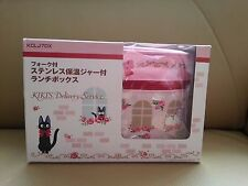 Kiki's Delivery Service Studio Ghibli Thermal Bento Lunch Box set