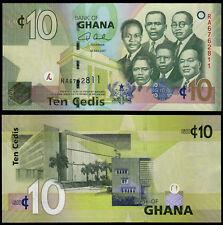 GHANA 10 CEDIS (P39a) 2007 UNC