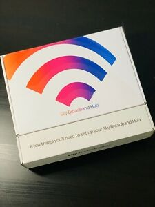 Sky Broadband Hub4 WirelessRouter WiFi SkyQ DuelBand ModelSR203 NEXTDAY DELIVERY