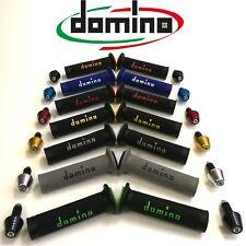 Kit Coppia Manopole Domino Racing+Contrappesi UNIVERSALI HONDA CBR 600 RR