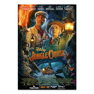 Jungle Cruise 2021 Movie Poster - Official Art - High Quality Prints
