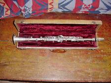 Vintage Lefevres Paris France Metal Clarinet  Unibody  Rene Duval Mouthpiece