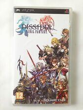 Final Fantasy Dissidia, Psp, Complet, FR, PAL