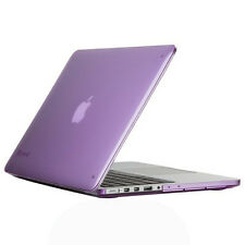 "Speck 13"" MacBook Pro With Retina Display Case SeeThru Cover Shell Haze Pur"