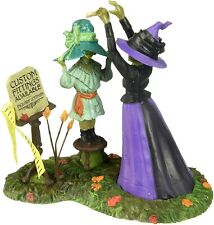 Hatties Hats Custom Fitted Dept 56 Snow Village Halloween 4056706 witch scary Z