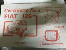 Cerchietti Antifurto Fari per Fiat 126