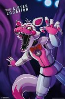 FIVE NIGHTS AT FREDDY'S - SISTER LOCATION - FUNTIME POSTER - 22x34 - 15003