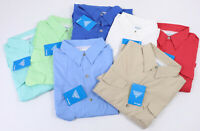 New Columbia PFG Fishing Shirt SS Short Sleeve Mens Vented Bonehead