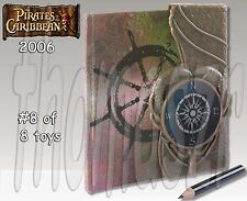 PIRATE ADVENTURE JOURNAL toy #8 - PIRATES of the CARIBBEAN (2006) *NIOP