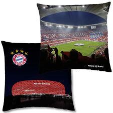 FC Bayern München Allianz Arena Fankissen 40x40 Dekokissen Kuschelkissen Kissen