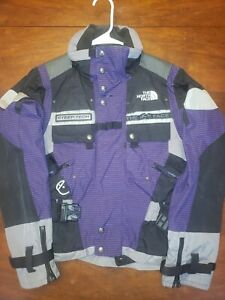 The North Face Women's Steep Tech Jacket Size XS Vintage Preowned Purple Gray