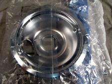 """GE General Electric Stove 8/"""" Chrome Drip Bowl PM32X0113 KIT3 KIT22 KIT11 8004"""