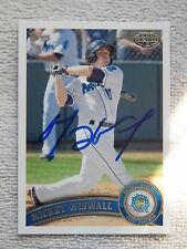 Seattle Mariners Mickey Wiswall Signed 2011 Topps Pro Debut Auto Card