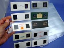 25 Stereo Realist Archival Slide storage Pages for storing 250 slides - nice!!