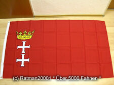 Fahnen Flagge Danzig - 90 x 150 cm