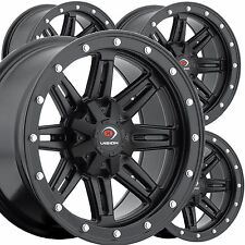 "4) 12"" RIMS WHEELS for 2006-2013 Suzuki King Quad 700 4x4 IRS Type 550 ATV"