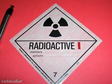 ZOWWIEE!   Genuine Radioactive Labels - Roll of 500