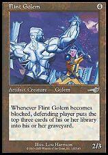Flint Golem X4 MP Nemesis MTG Magic Cards Artifact Uncommon