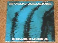 RYAN ADAMS - Exclusive Live DVD - RARE 3 Track PROMO DVD! NEW! no cd OOP!