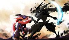 378 Pokemon Greninja PLAYMAT CUSTOM PLAY MAT ANIME PLAYMAT FREE SHIPPING