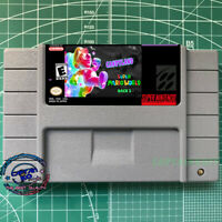 Super Mario World CandyLand  SNES Video game  USA Version