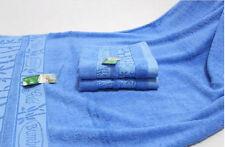 US STOCK SKY Blue Bamboo Fiber Bath Towel Jacquard Style Size 70 x140 CM