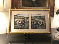 🔷 Contemporary Artist Selma Alden Cape Cod Prudence Cruise Original Watercolor