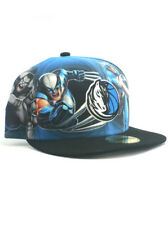 08e70523f69 New Era NBA Dallas Mavericks 59fifty Fitted Hat Size 7 3 8 Marvel Heroes NWT