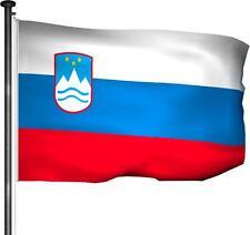 Fahne Slowenien - Hissfahne 150x100cm Premium Qualität