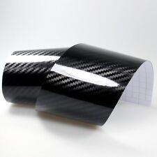 9,8?/m² 5D Carbon Schwarz glanz Autofolie Carbonfolie Auto Folie glänzend Black
