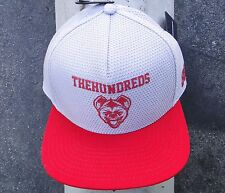 The Hundreds Skate Logo 88 Gray/Red Snapback Hat CapHTHD-62