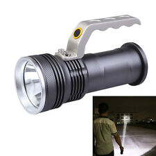 Long Range Rechargeable Aluminum LED Heavy Duty Waterproof Torch -3 Mode