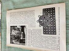 m89b ephemera 1950s picture theo olfers meccano robot dutch t v studio