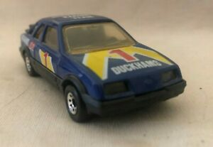 Matchbox Ford Sierra XR4i - blue, Duckhams