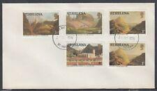 St. Helena Scott 298/302 FDC - 1976 Definitive Issues