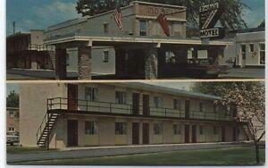 Gocha's Downtown Motel Gaylord,MI Postcard