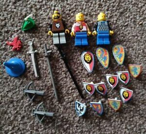 LEGO Castle Minifigures Bundle - Figures, Weapons And Spares