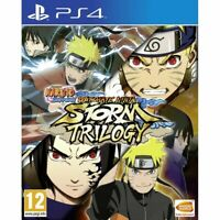 NARUTO SHIPPUDEN Ultimate Ninja STORM Trilogy PS4 Playstation 4 Brand New Sealed